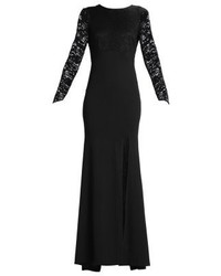 Seraphina jersey dress black medium 3841551