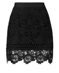 Ted Baker Beay Mini Skirt Black