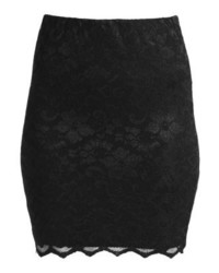 Minimum Gunver 0294 Mini Skirt Black