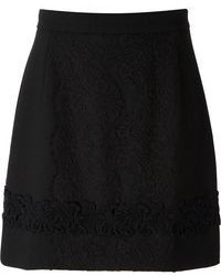 Lace panel skirt medium 65405