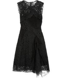 Nina Ricci Patchwork Lace Dress