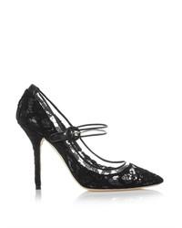 Dolce & Gabbana Bellucci Lace Mary Jane Pumps