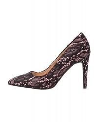 Dorothy Perkins Wide Fit Emily Classic Heels Black