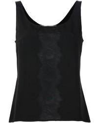 Carolina Herrera Lace Detail Tank Top