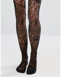 Asos Lace Over The Knee Tights