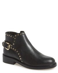 Topshop Actor Leather Ankle Boot