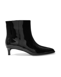 3.1 Phillip Lim Agatha Patent Leather Ankle Boots