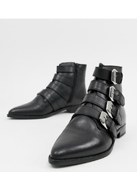 ASOS DESIGN Alissa Leather D Boots Leather