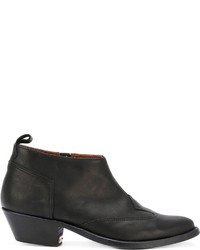 Golden Goose Deluxe Brand Almond Toe Ankle Boots