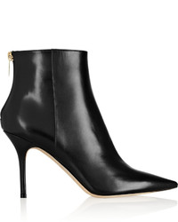 Jimmy Choo Amore Polished Leather Ankle Boots