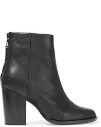 Rag & Bone Ashby Leather Ankle Boots Black