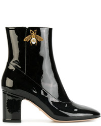 Gucci Bee Ankle Boots