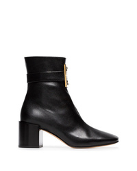 Givenchy Black 4g Leather Ankle Boots