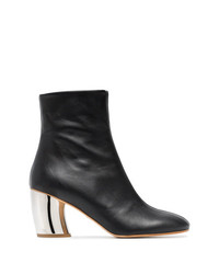 Proenza Schouler Black Half And Half 70 Leather Boots