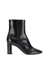 Saint Laurent Block Heel Ankle Boots