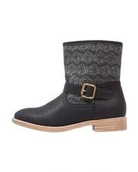 Anna Field Boots Black