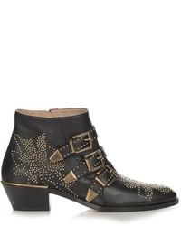 Chloé Chlo Susanna Leather Ankle Boots