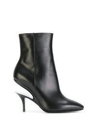 Maison Margiela Cut Out Heel Ankle Boots