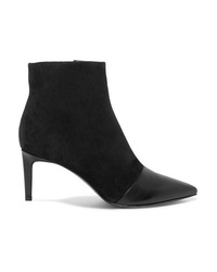 Rag & Bone Ed Leather And Suede Ankle Boots