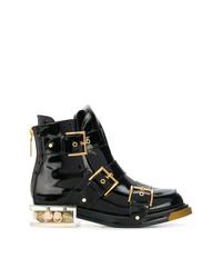 Alexander McQueen Fastening Boots