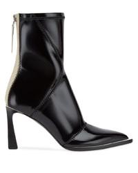 Fendi Fframe Structured Heel Ankle Boots