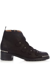 Alexa Wagner Harley Leather Ankle Boots