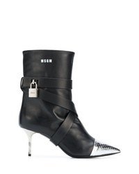 MSGM High Heel Ankle Boots