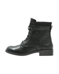 Anna Field Lace Up Boots Black