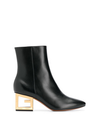 Givenchy Logo Heel Boots