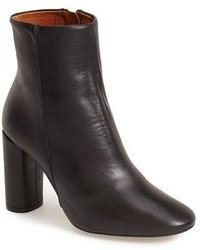 Topshop Magnum Leather Ankle Boot