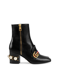 Gucci Mid Heel Ankle Boots