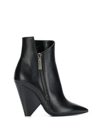 Saint Laurent Niki 85 Asymmetric Boots
