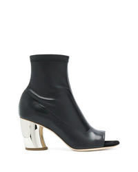 Proenza Schouler Open Toe Ankle Boots