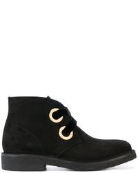 Rupert Sanderson Oversized Eyelets Ankle Boots