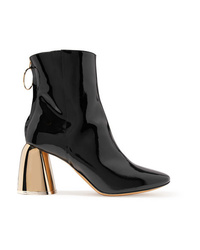 Ellery Patent Leather Ankle Boots