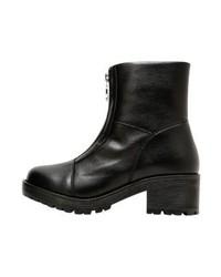 Moschino Peace And Love Zippers Boots Nero