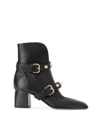 RED Valentino Pointed D Ankle Boots