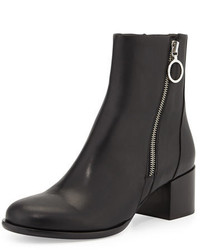 Rag and Bone Rag Bone Avery Low Heel Leather Ankle Boot