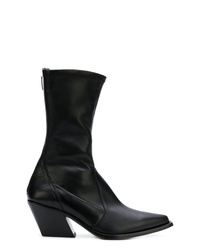 Givenchy Rear Zip Pointed Boots