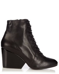 Robert Clergerie Tula Leather Ankle Boots