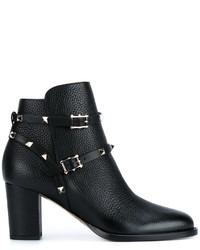 Valentino Rockstud Ankle Boot