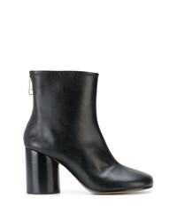 Maison Margiela Round Toe Ankle Boots