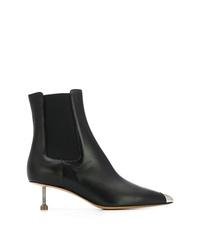 Maison Margiela Screw Kitten Heel Boots