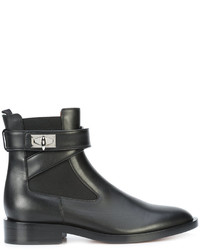 Givenchy Shark Lock Ankle Boots