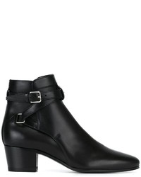 Saint Laurent Signature Blake 40 Jodhpur Ankle Boots
