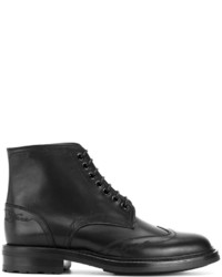 Saint Laurent William 24 Wingtip Lace Up Boot