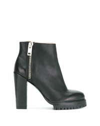 Diesel Zip Heeled Ankle Boots