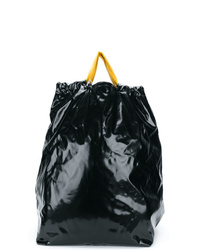 Maison Margiela Contrast Top Drawstring Backpack