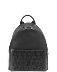 Fendi Embossed Ff Backpack