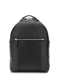 Salvatore Ferragamo Embossed Logo Backpack